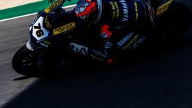 Loris Baz, Ten Kate Racing - Yamaha, Portimao FP2