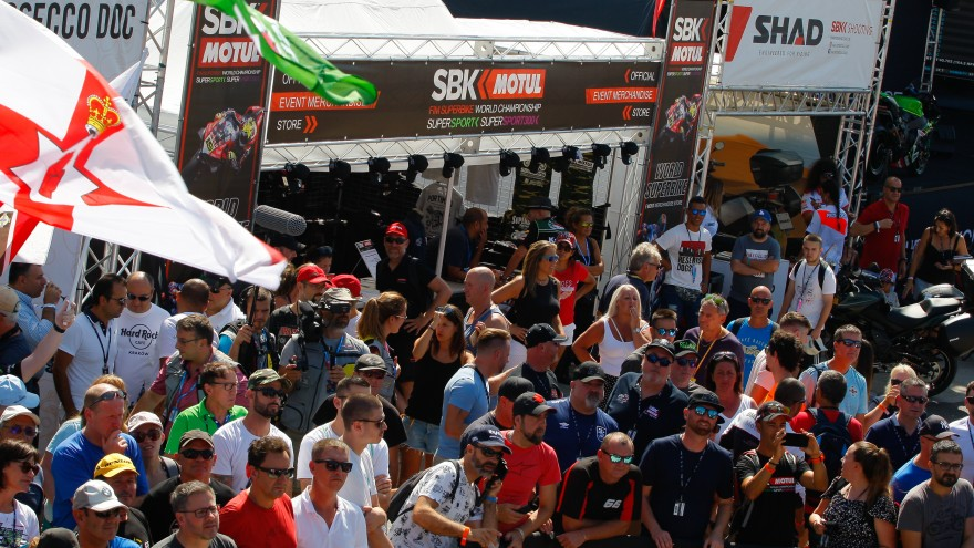 WorldSBK, Portimao Fan zone