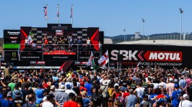 WorldSBK, Portimao Podium