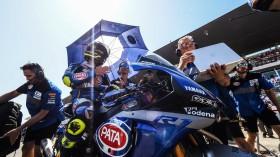 Sandro Cortese, GRT Yamaha WorldSBK, Portimao RACE 1