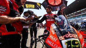 Alvaro Bautista, Aruba.it Racing - Ducati, Portimao RACE 1