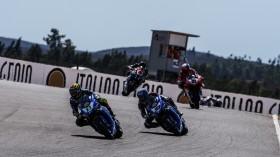 Sandro Cortese, Marco Melandri, GRT Yamaha WorldSBK, Portimao RACE 1