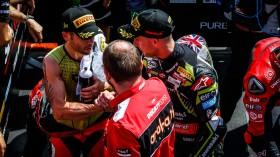 Alvaro Bautista, Aruba.it Racing - Ducati, Jonathan Rea, Kawasaki Racing Team WorldSBK, Portimao RACE 2