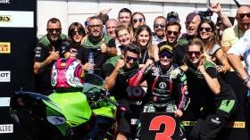 Ana Carrasco, Kawasaki Proves WorldSSP300, Portimao RACE