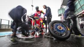 Leon Camier, Moriwaki-Althea Honda Racing Team, Magny-Cours FP1