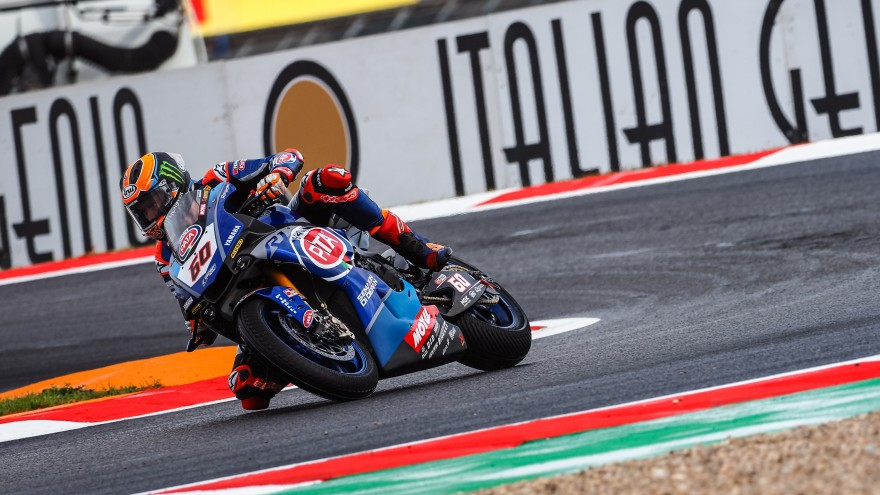 Michael van der Mark, Pata Yamaha Official WorldSBK Team, Magny-Cours FP1