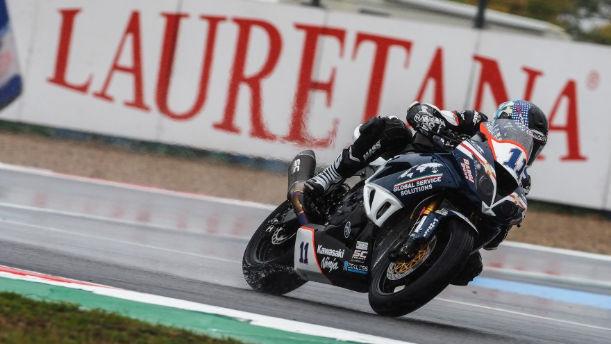 Kyle Smith, Team Pedercini Racing, Magny-Cours FP2