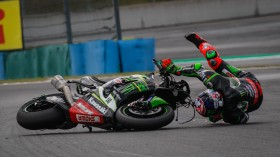 Leon Haslam, Kawasaki Racing Team WorldSBK, Magny-Cours RACE 1