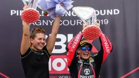 Ana Carrasco, Kawasaki Proves WorldSSP300, Magny-Cours RACE