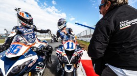 Ayrton Badovini, Kyle Smith, Team Pedercini Racing, Magny-Cours RACE