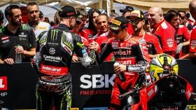 Jonathan Rea, Kawasaki Racing Team WorldSBK, Alvaro Bautista, Aruba.it Racing - Ducati, San Juan Tissot Superpole
