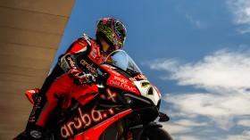 Chaz Davies, Aruba.it Racing - Ducati, San Juan Tissot Superpole