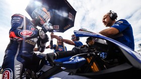 Michael van der Mark, Pata Yamaha WorldSBK Team, San Juan RACE 1