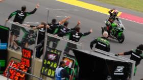 Jonathan Rea, Kawasaki Racing Team WorldSBK, San Juan Tissot Superpole RACE