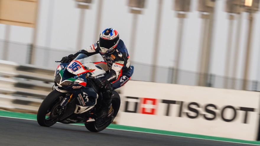 Ayrton Badovini, Team Pedercini Racing, Losail FP1