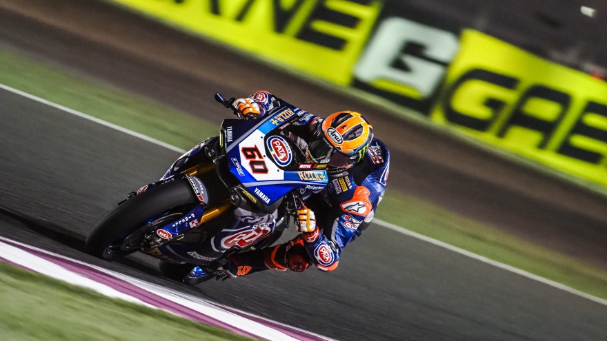 Michael van der Mark, Pata Yamaha Official WorldSBK Team, Losail FP1