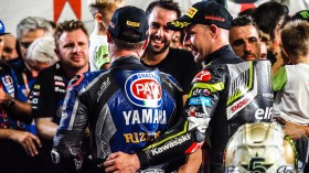 Alex Lowes, Pata Yamaha WorldSBK Team, Jonathan Rea, Kawasaki Racing Team WorldSBK, Losail RACE 1