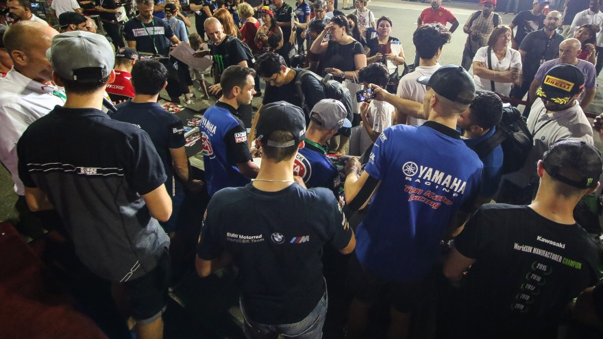 WorldSBK, Losail Autograph Session