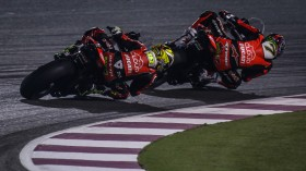 Chaz Davies, Alvaro Bautista, Aruba.it Racing - Ducati, Losail RACE 2