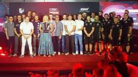 WorldSBK, Losail Ceremony, Kawasaki Racing Team WorldSBK