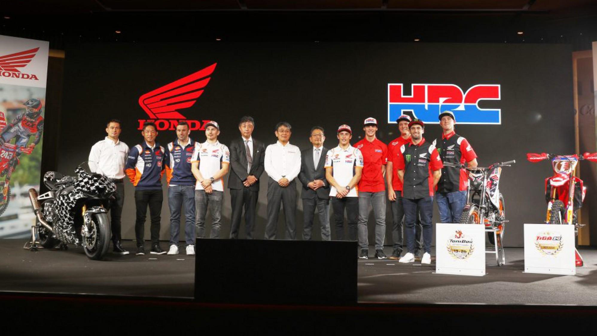 Honda unveil HRC WorldSBK team for 2020 title attack