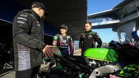 Ana Carrasco, Jonathan Rea, Kawasaki Racing Team WorldSBK - Jerez Test