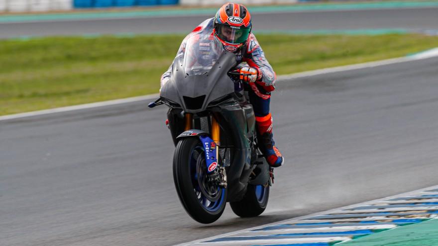 Michael van der Mark, Pata Yamaha Official WorldSBK Team, Jerez Test Day 1