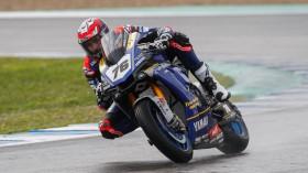 Loris Baz, Ten Kate Racing - Yamaha, Jerez Test Day 1