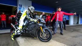 Alvaro Bautista, Team HRC, Jerez Test Day 1