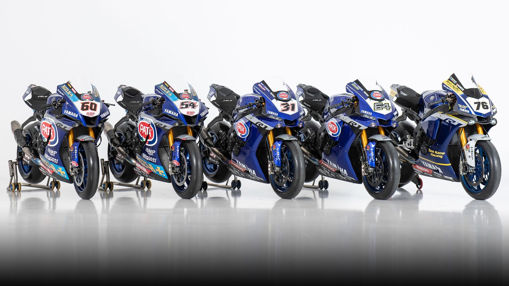 PATA Yamaha unveil WorldSBK colours for 2020 title race
