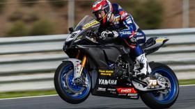 Loris Baz, Ten Kate Racing - Yamaha, Jerez Test Day 2