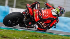 Chaz Davies, Aruba.it Racing - Ducati, Jerez Test Day 2