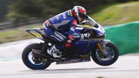 Loris Baz, Ten Kate Racing - Yamaha, Portimao Test Day 1