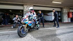 Eugene Laverty, BMW Motorrad WorldSBK Team, Portimao Test Day 1