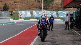 Garett Gerloff, GRT Yamaha WorldSBK Junior Team, Portimao Test Day 1