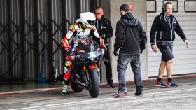 Leandro Mercado, Motocorsa Racing , Portimao Test Day 1