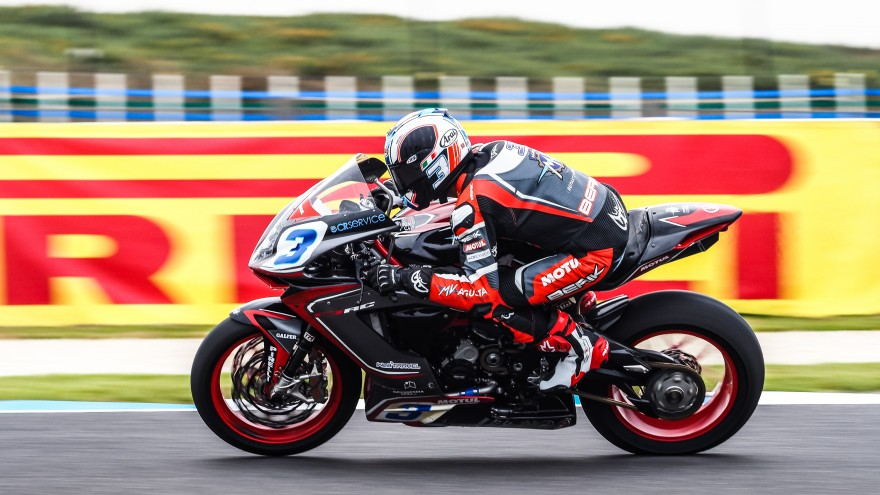 Raffaele De Rosa, MV AGUSTA Reparto Corse, Official Test Phillip Island FP1 Day1
