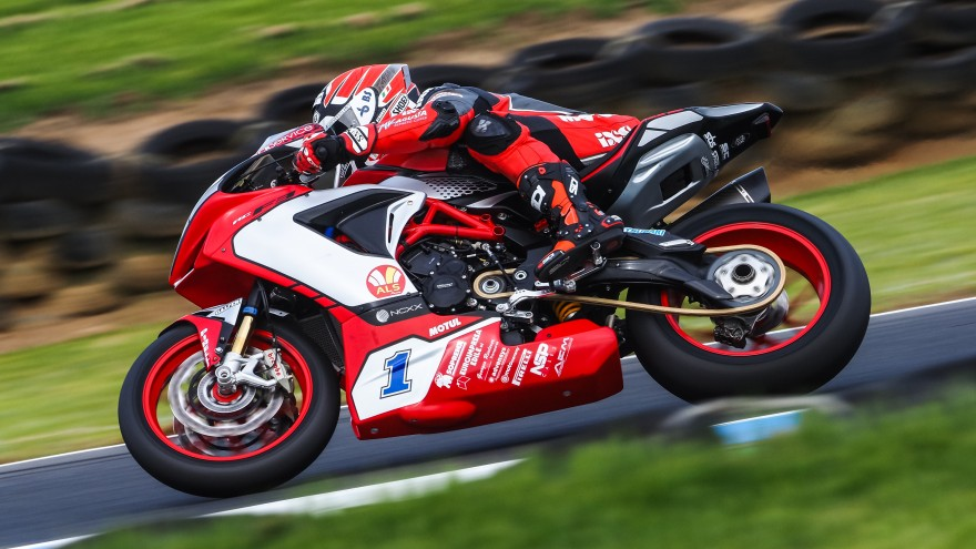 Randy Krummenacher, MV AGUSTA Reparto Corse, Official Test Phillip Island FP1 Day1