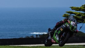 Alex Lowes, Kawasaki Racing Team WorldSBK, Official Test Phillip Island FP2 Day1