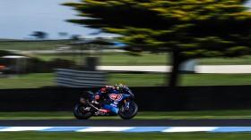 Michael van der Mark, Pata Yamaha Official WorldSBK Team, Official Test Phillip Island FP1 Day1