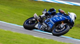 Jules Cluzel, GMT94 Yamaha, Official Test Phillip Island FP2 Day2