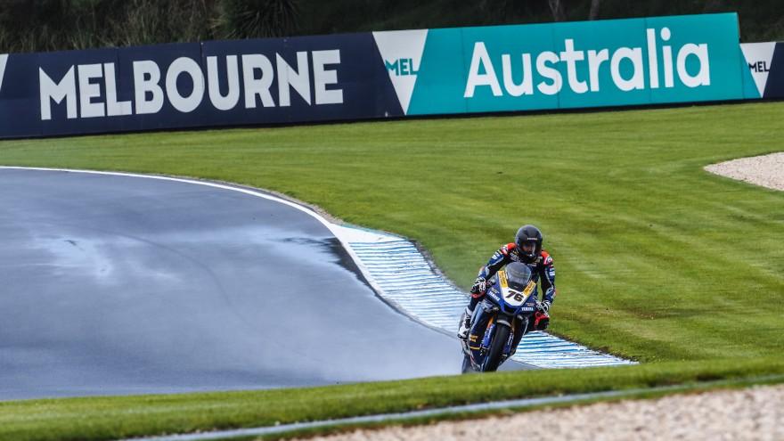 Loris Baz, Ten Kate Racing - Yamaha, Phillip Island FP1