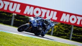 Jules Cluzel, GMT94 Yamaha, Phillip Island FP1