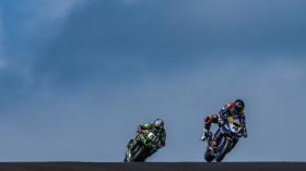 Loris Baz, Ten Kate Racing Yamaha, Alex Lowes, Kawasaki Racing Team WorldSBK, Phillip Island FP2
