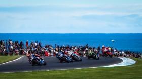 Michael van der Mark, Pata Yamaha WorldSBK Official Team, Phillip Island RACE 1
