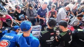 WorldSBK, Phillip Island Autograph Session