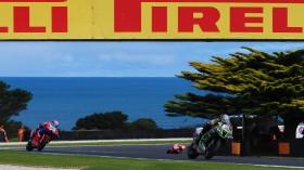 Alex Lowes, Kawasaki Racing Team WorldSBK, Phillip Island RACE 1