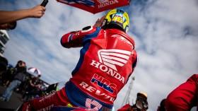 Alvaro Bautista, Team HRC, Phillip Island RACE1