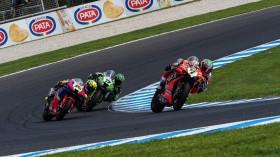 Chaz Davies, Aruba.it Racing - Ducati, Phillip Island RACE 2