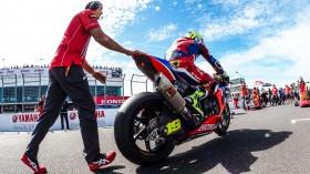 Alvaro Bautista, Team HRC, Phillip Island Tissot Superpole RACE